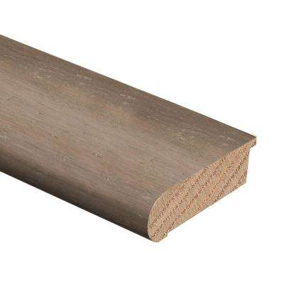 Strand Woven Bamboo Light Taupe 3/8 in. Thick x 2-3/4 in. Wide x 94 in. Length Hardwood Stair Nose Molding