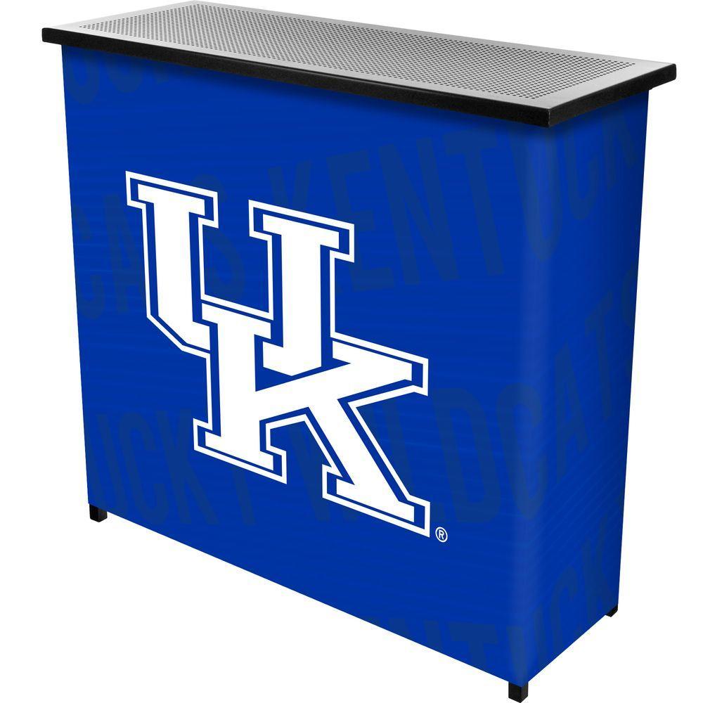 University of Kentucky Wordmark 2-Shelf Blue Bar with Case