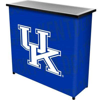 University of Kentucky Wordmark 2-Shelf Blue Bar with Case