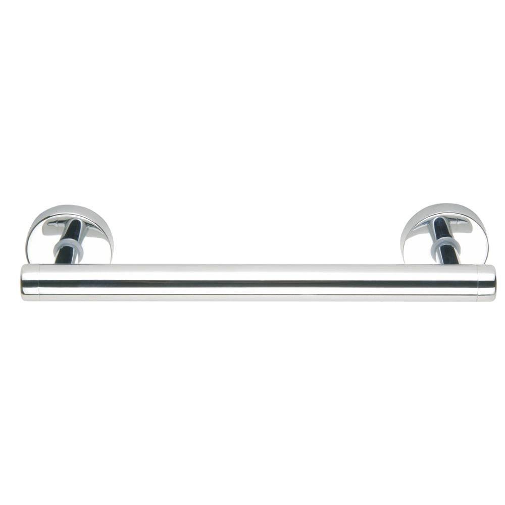 Draad Premium Solid Brass Euro Grab Bar/ Shower Door Handle in Chrome