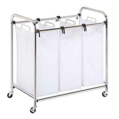 Heavy Duty Triple Laundry Sorter