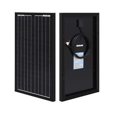 30-Watt 12-Volt Monocrystalline Solar Panel (New Edition)