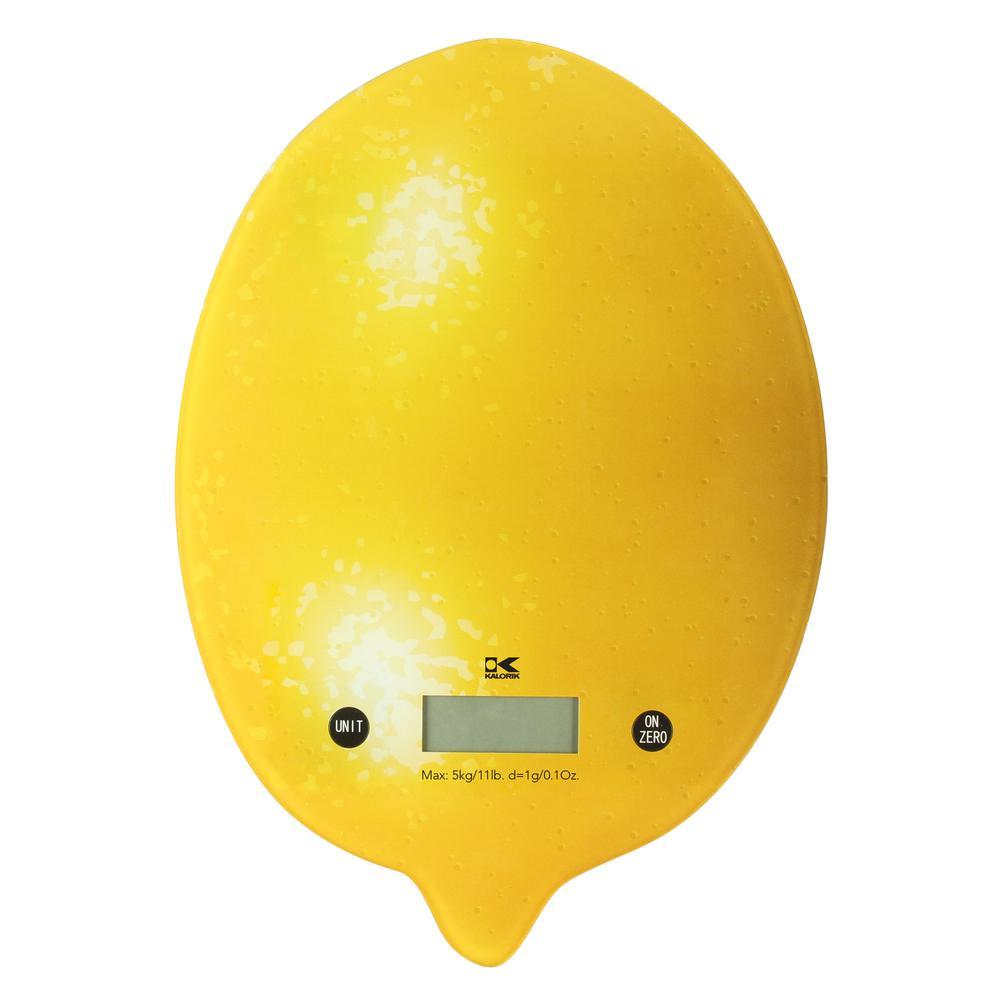 Lemon Digital Kitchen Scale