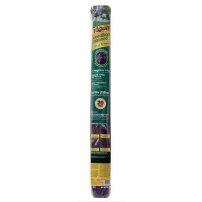 4 ft. x 200 ft. Polyethylene Landscape Weed Barrier Fabric