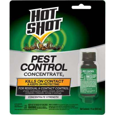 Pest Control Concentrate 1 oz, Residual and Contact Control