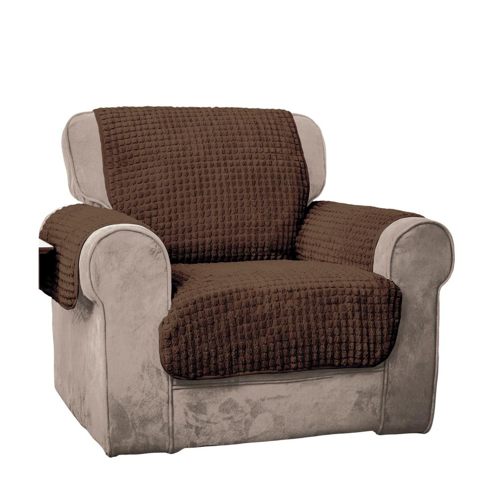 Home Solutions Furniture: Innovative Textile Solutions Chocolate Puff Chair