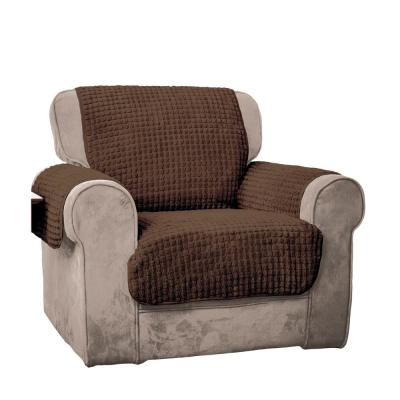 Chocolate Puff Chair Furniture Protector