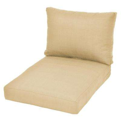 Beverly CushionGuard Oatmeal Replacement Outdoor Sectional Cushion