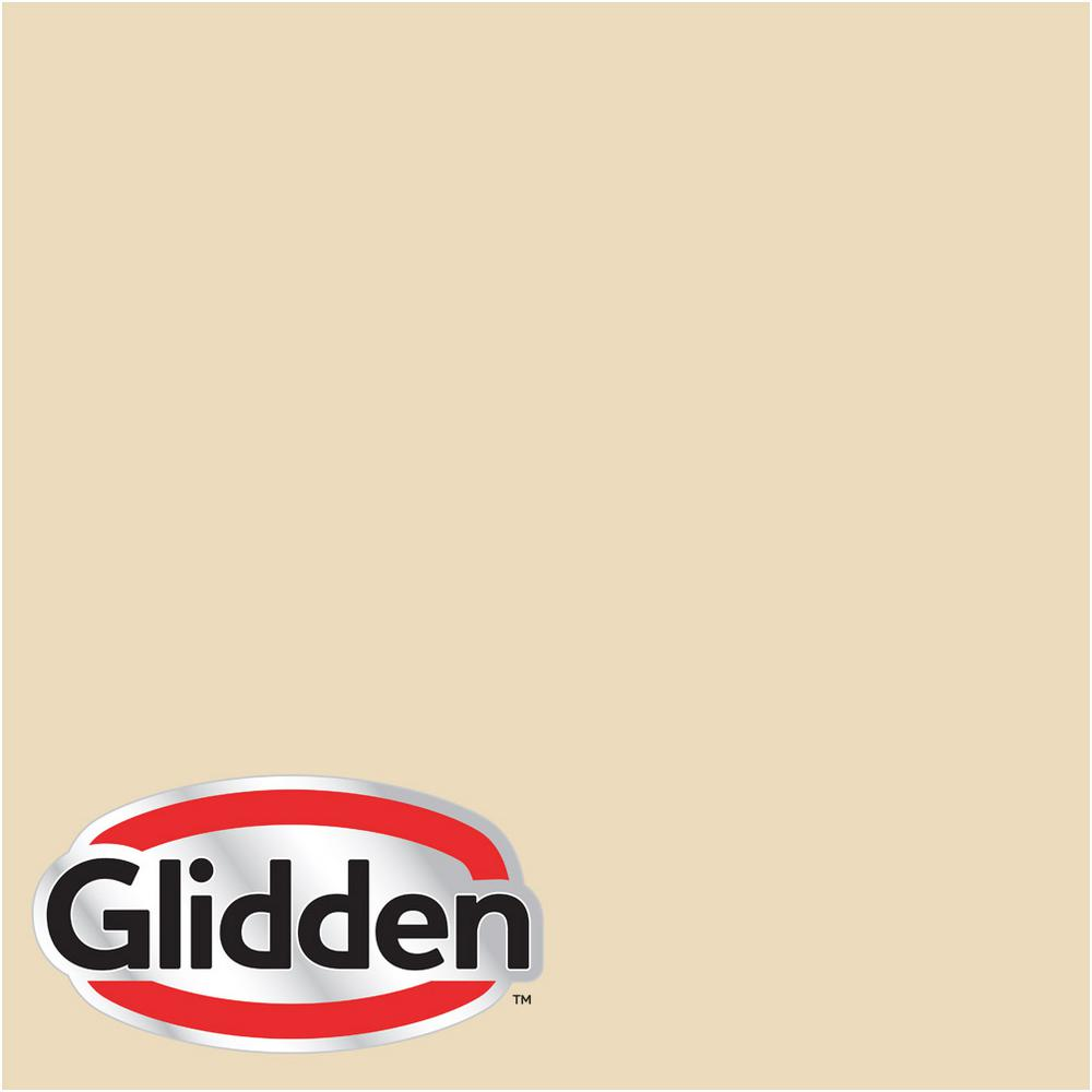 Glidden Premium 5 gal. #HDGY22 Country Cream Satin Interior Paint with  Primer
