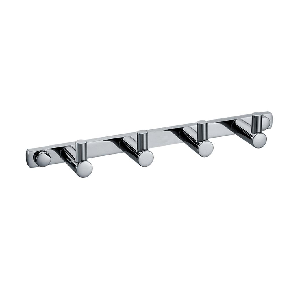 ALFI BRAND AB9528 Quadruple Robe Hook in Polished Chrome