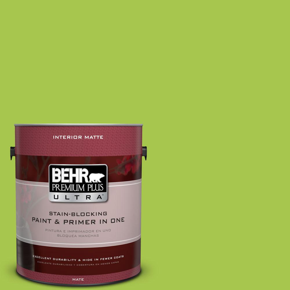 1 gal. #420B-5 Sweet Midori Flat/Matte Interior Paint