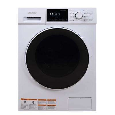 2.7 cu. ft. White 115-Volt All-in-One Washer Dryer Combo