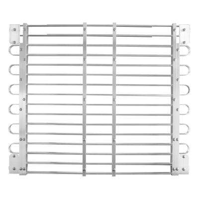 30 - 33 in. x 45 - 60 in. Adjustable Aluminum Window Well Grate