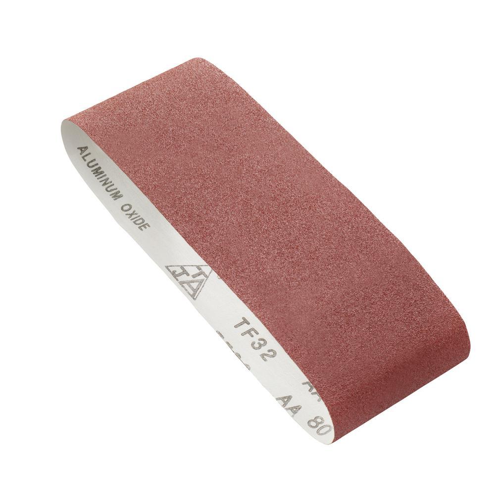 Ryobi 80 Grit 4 inch x 24 inch Belt Sandpaper by Ryobi
