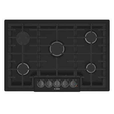 Bosch Range Top >> Bosch 30 In Black Stainless Steel Cooktops Appliances The