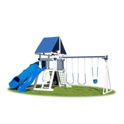 White Lunar Vinyl Playset