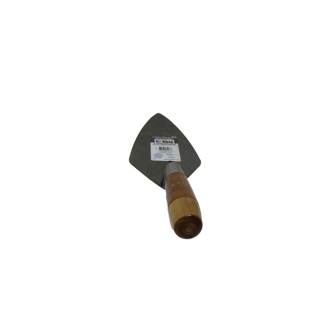 11 in. Narrow London Brick Trowel with Leather Handle