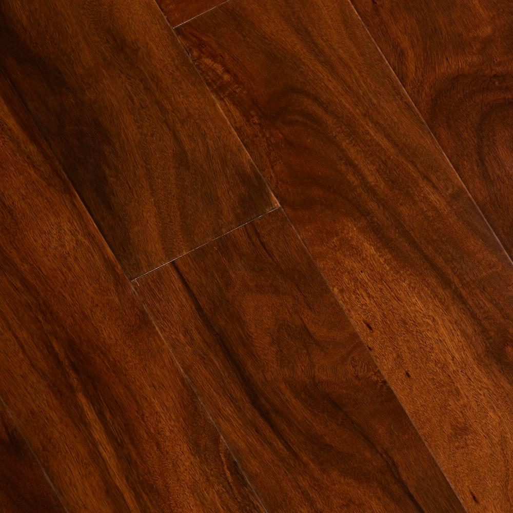 Home Legend Anzo Acacia 1/2 In. Thick X 5 In. Wide X Varying Length Engineered Exotic Hardwood Flooring (26.25 Sq. Ft. / Case), Acacia Brown