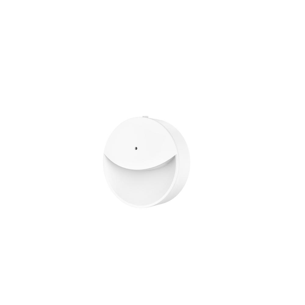 Stylewell Round Dusk to Dawn and 2-Ways Lumens Switch Automatic LED Night Light