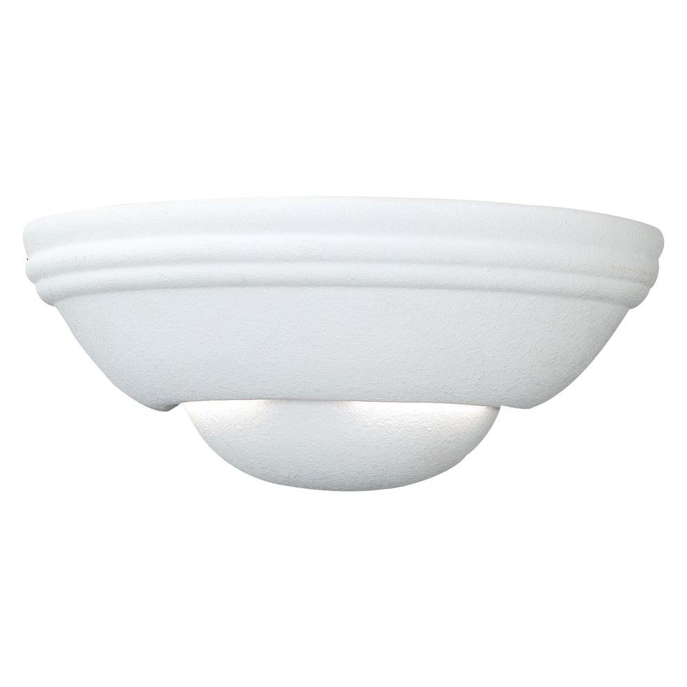 Thomas Lighting 1-Light Matte White Wall Sconce-DISCONTINUED