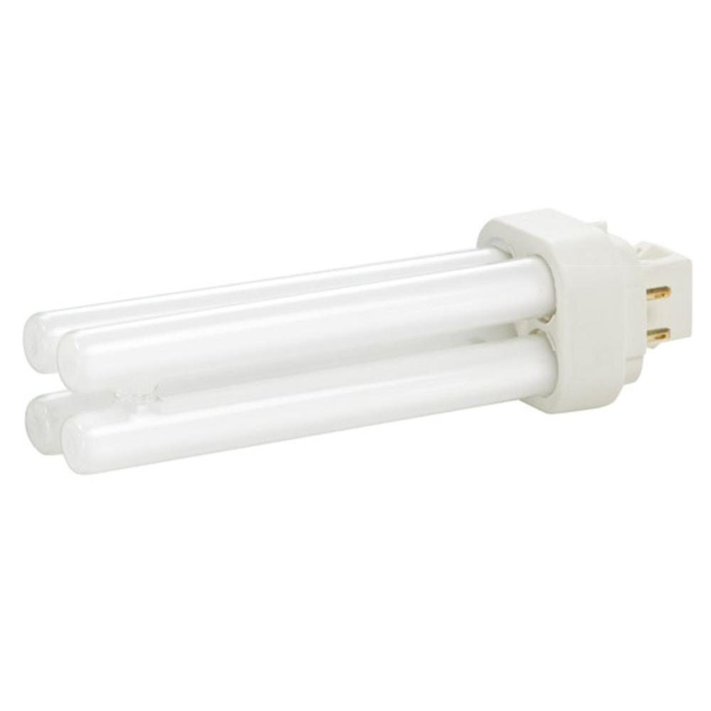 13-Watt Equivalent CFLNI 4-Pin G24Q-1 CFL Light Bulb Cool White (4100K)