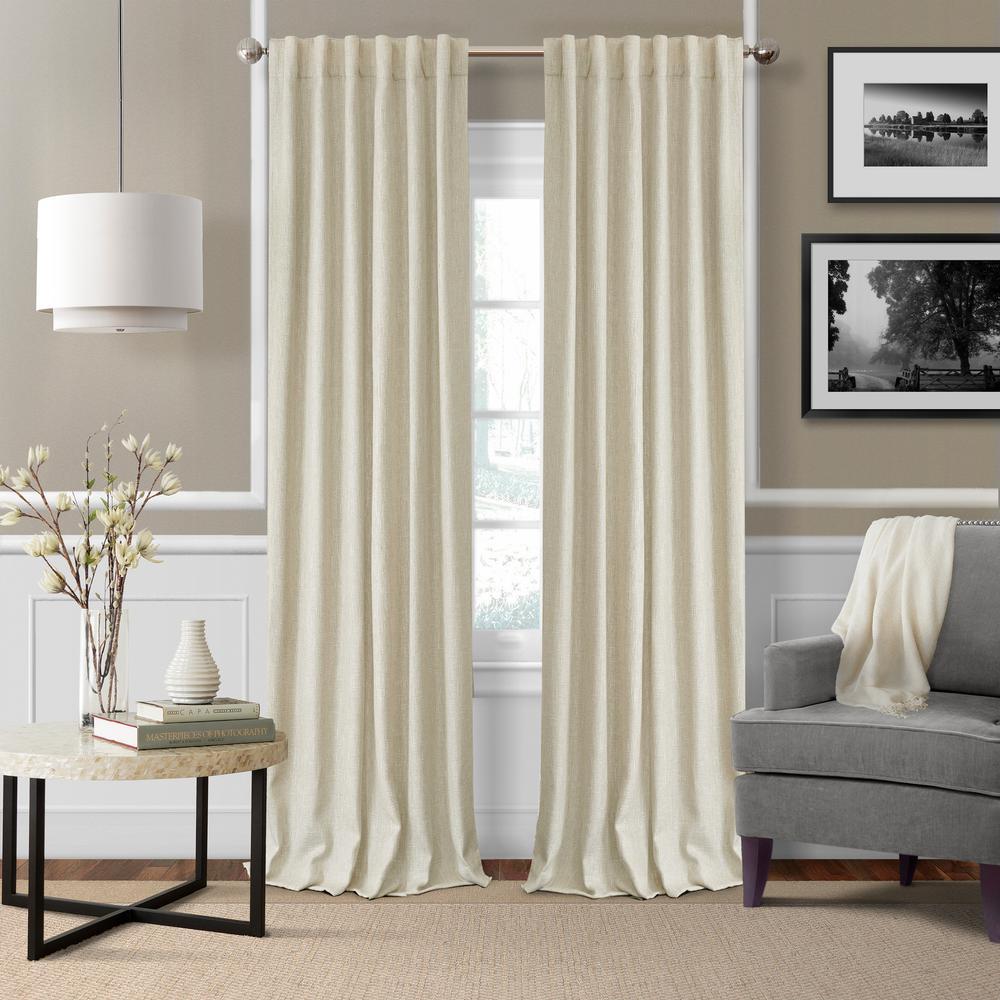 Colton Woven Room Darkening Window Curtain
