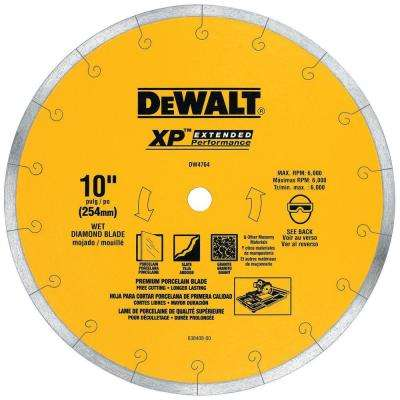 XP4 10 in. x 1/16 in. Premium Wet Diamond Blade