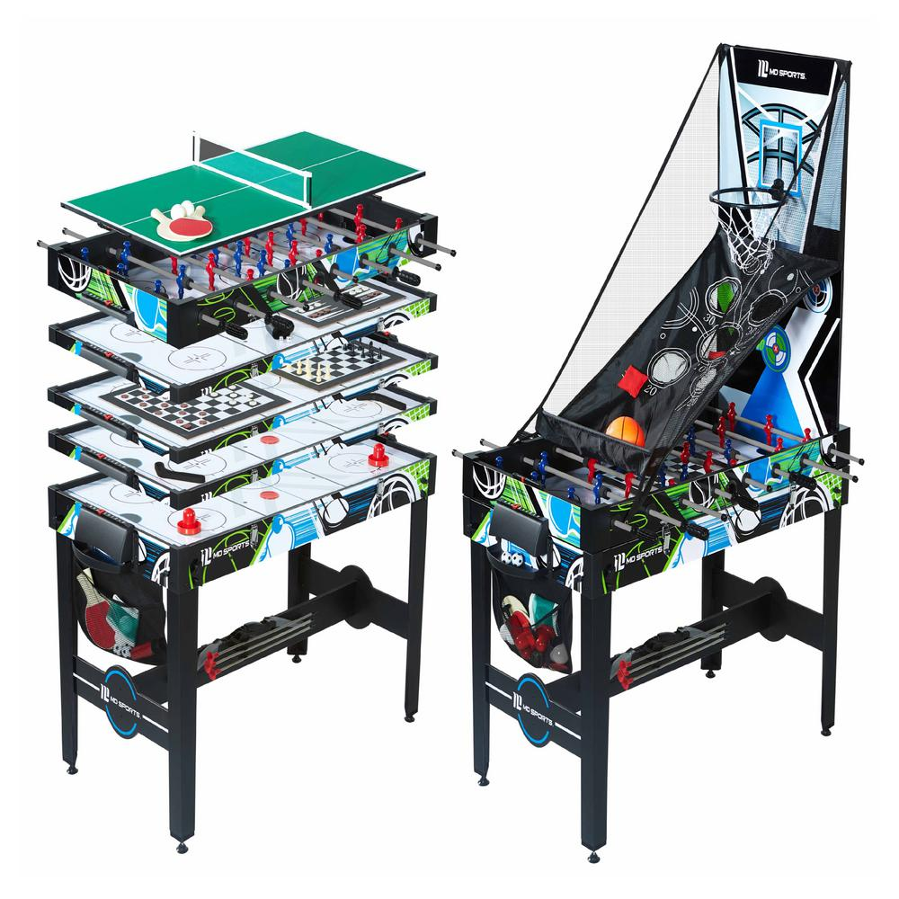 Md Sports 48 In 12 In 1 Multi Game Table