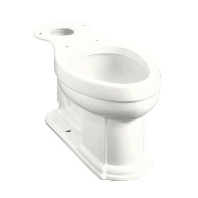 Devonshire Comfort Height Elongated Toilet Bowl Only in White