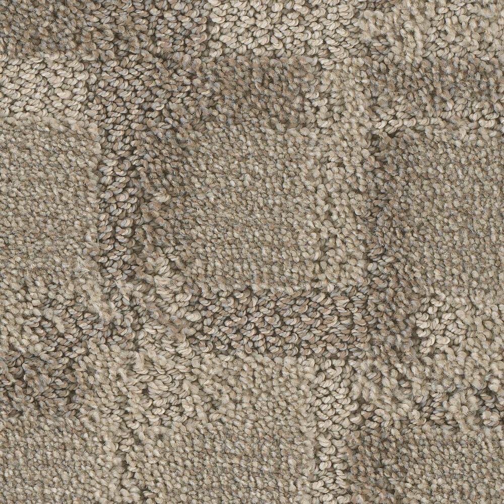 Carpet Sample - Open Wheel - Color Orbit Pattern 8 in. x 8 in.