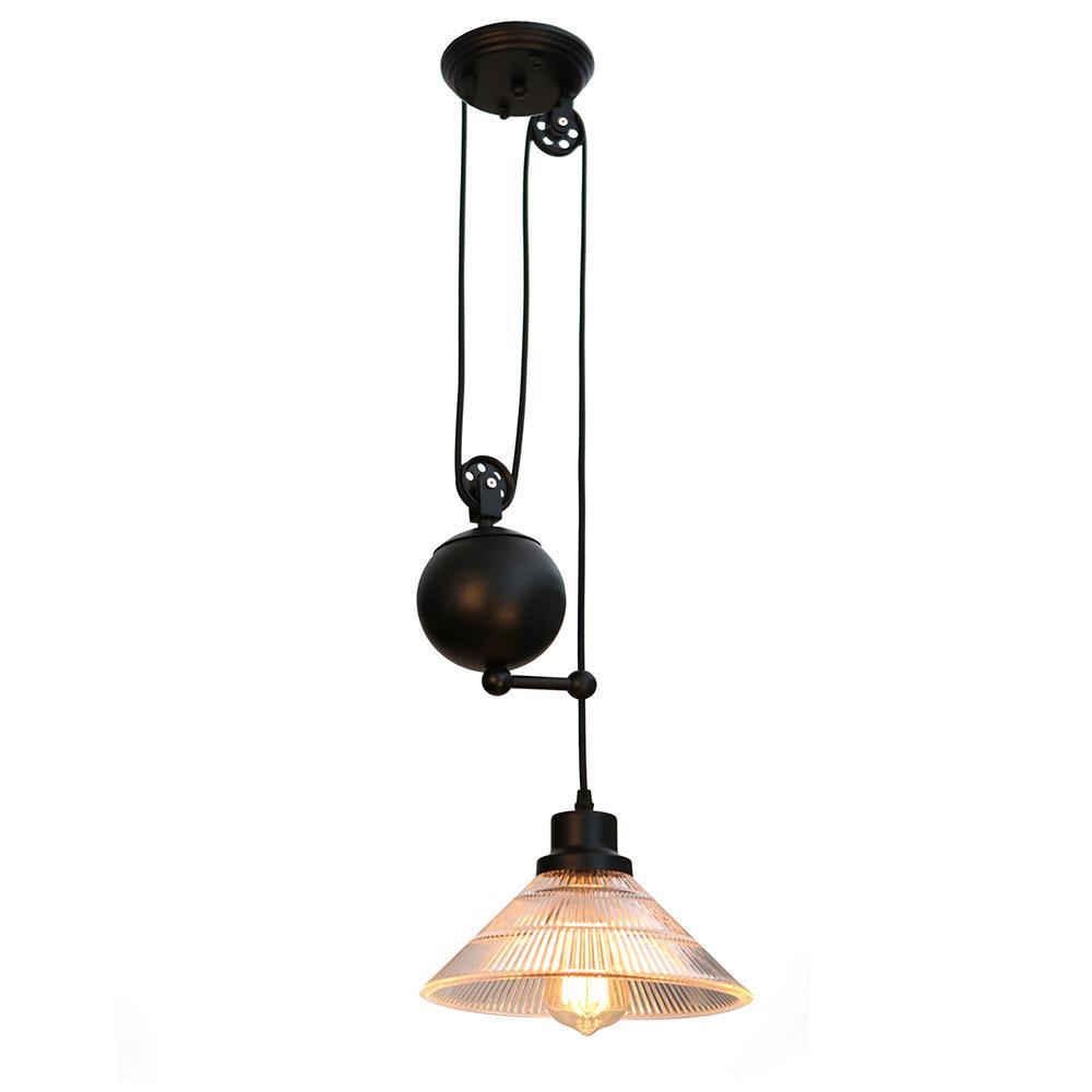Rinchix 1-Light Black Pendant