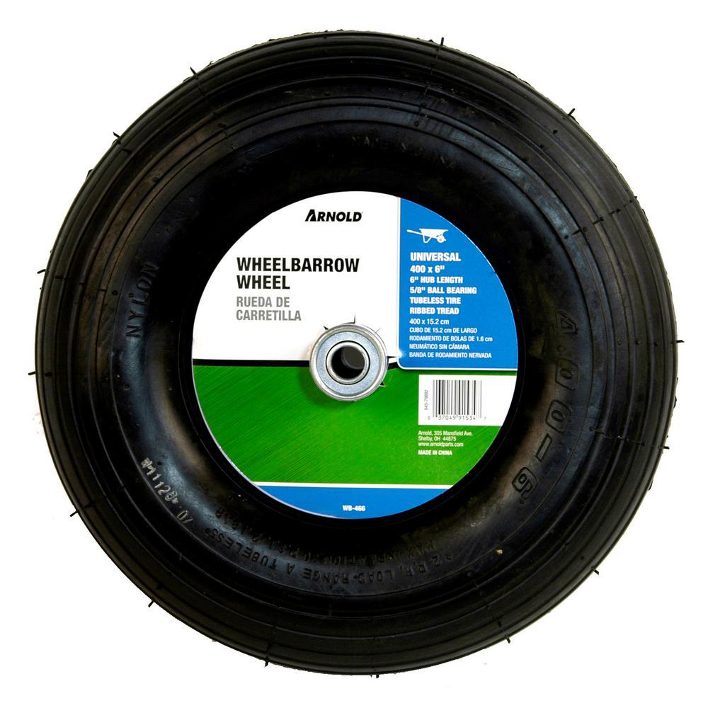 14 in. Pneumatic Universal Wheelbarrow Wheel
