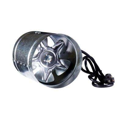 240 CFM 6 in. Inline Duct Booster Fan for Indoor Garden Ventilation