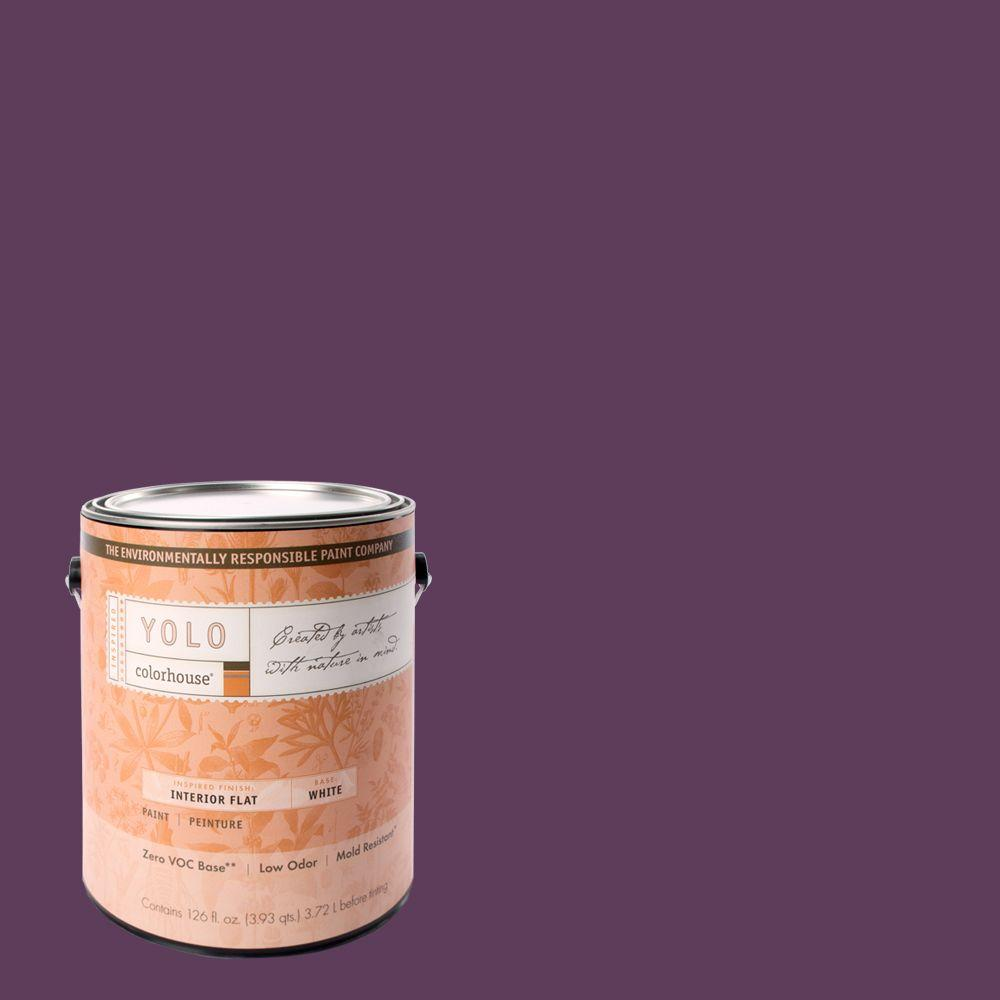 YOLO Colorhouse 1-gal. Create .06 Flat Interior Paint-DISCONTINUED
