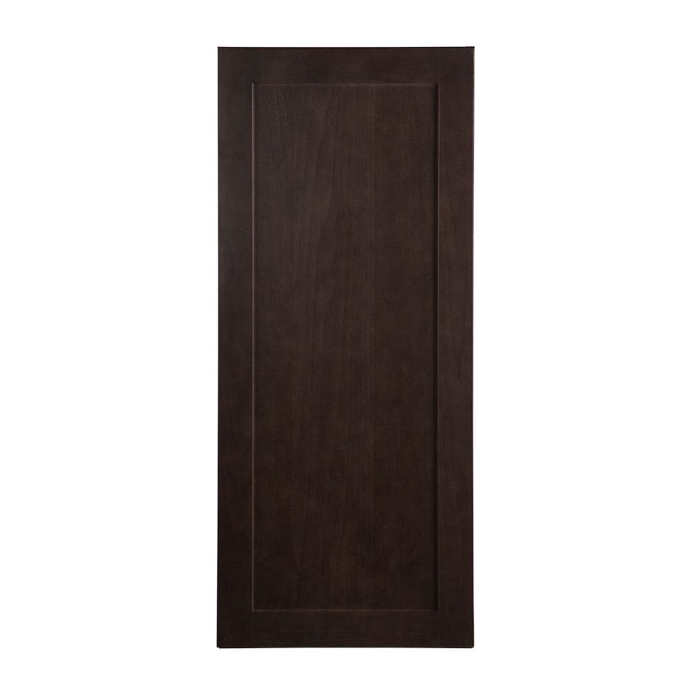 Wall Cabinet In Dusk: Hampton Bay Assembled 30 In. X 18 In. X 12.62 In