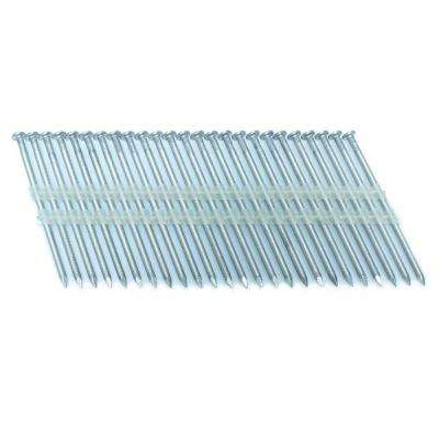 3 in. x 0.121 in. 20-Degree Ring Stainless Full Round Head Plastic Strip Nails 3000 per box