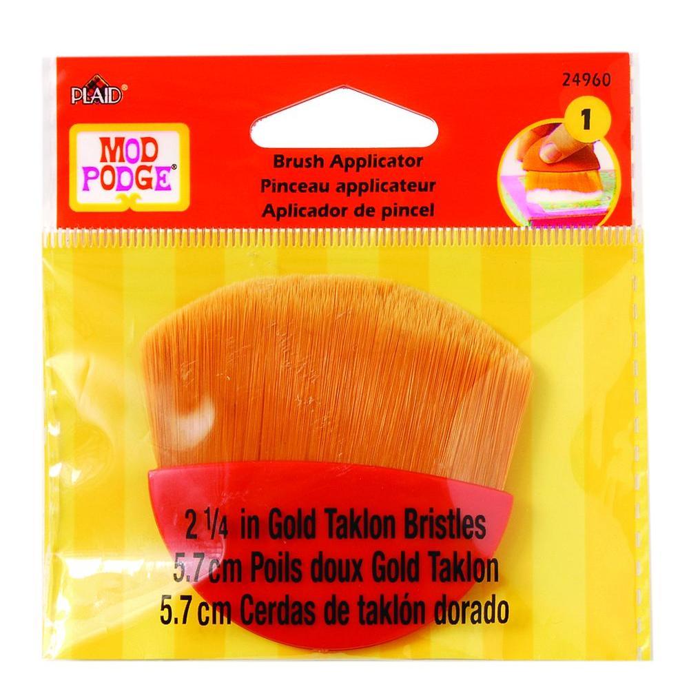 Mod Podge 2-1/4 in. Gold Taklon Brush