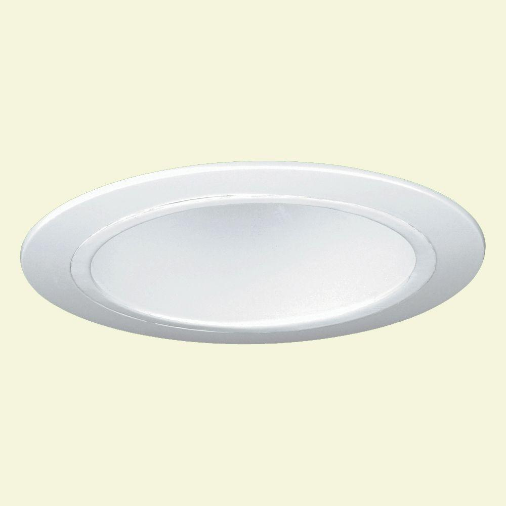 Yosemite Home Decor Recessed Lighting 737 In Horizontal Reflector Trim For Lights White