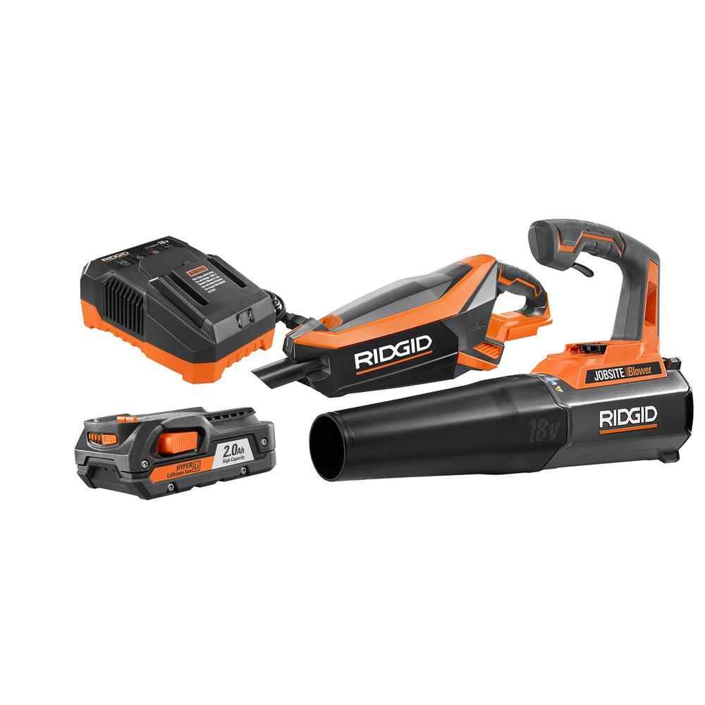 RIDGID GEN5X 18-Volt Brushless Vacuum and Jobsite Blower Kit Deals