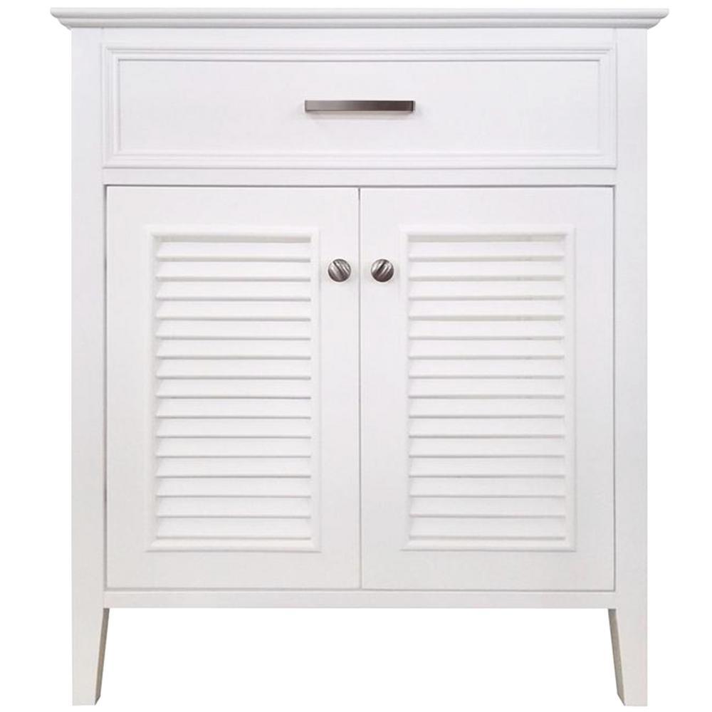 Kensington 31 in. Bath Vanity Cabinet Only in White