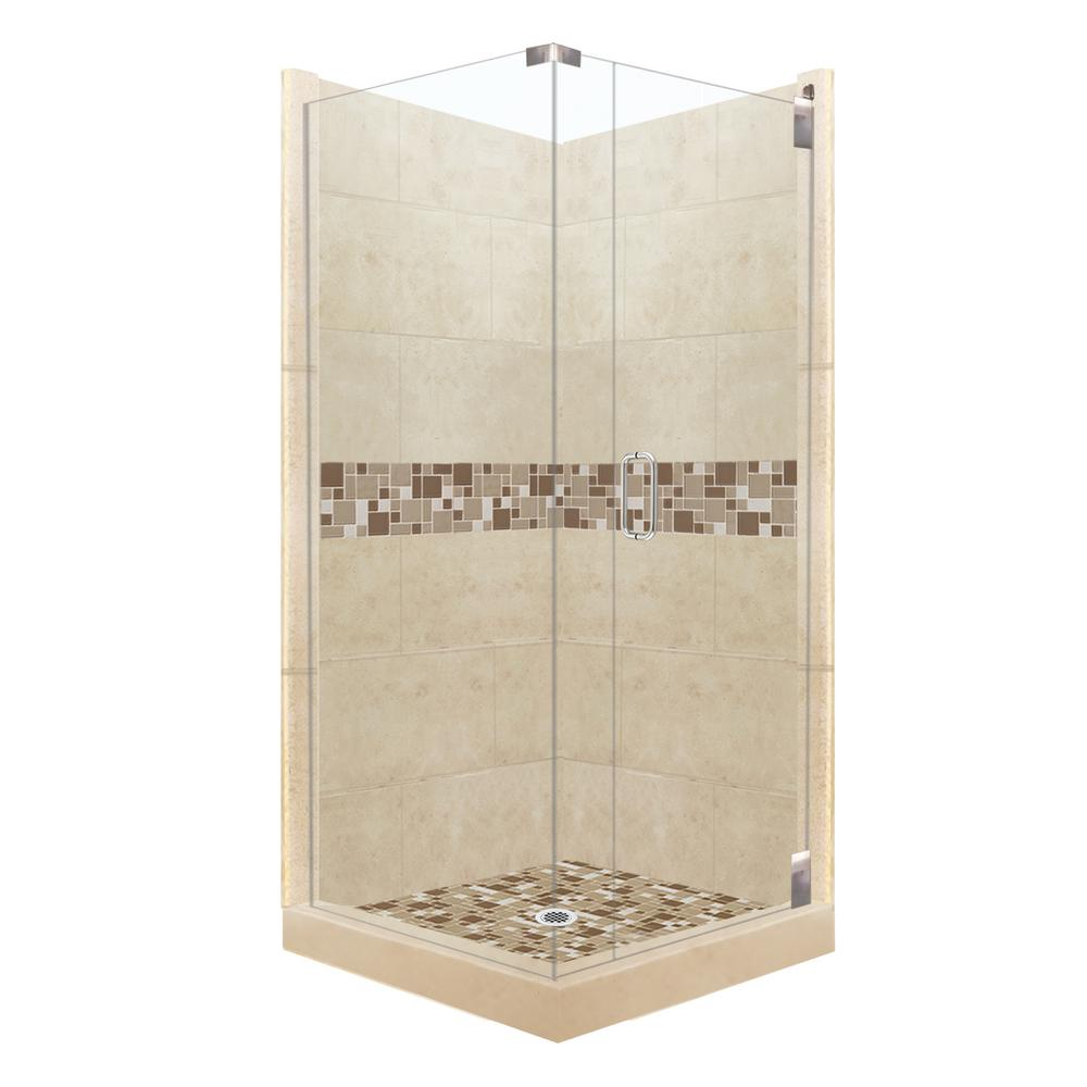 American Bath Factory Tuscany Grand Hinged 42 In X 42 In
