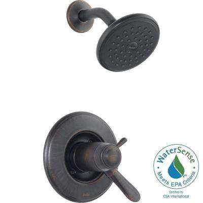 Lahara TempAssure 17T Series 1-Handle Shower Faucet Trim Kit Only in Venetian Bronze (Valve Not Included)