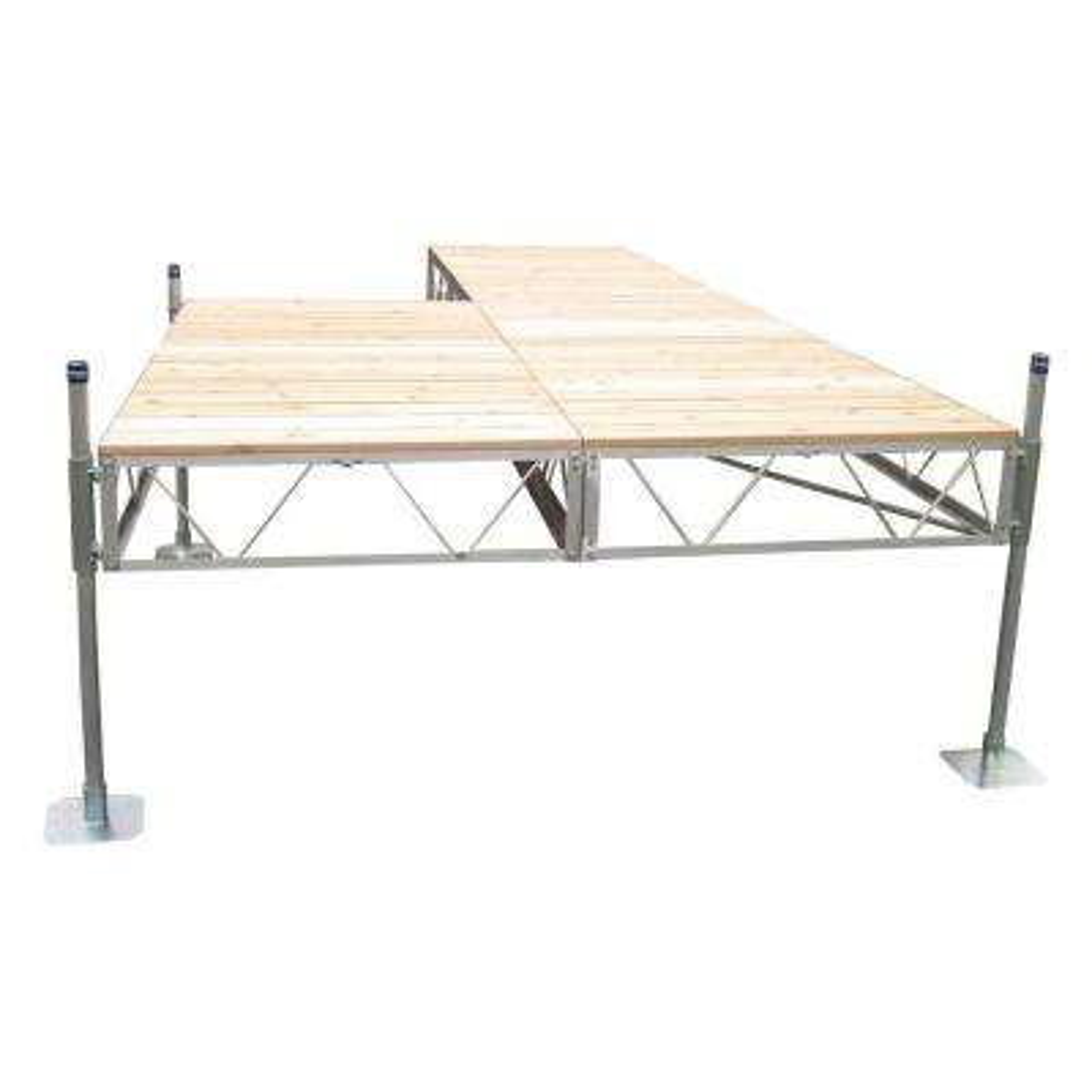 24 ft. Patio Dock with Cedar Decking