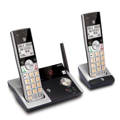 DECT 6.0 2-Handset Expandable Digital Cordless Answering System and Caller ID