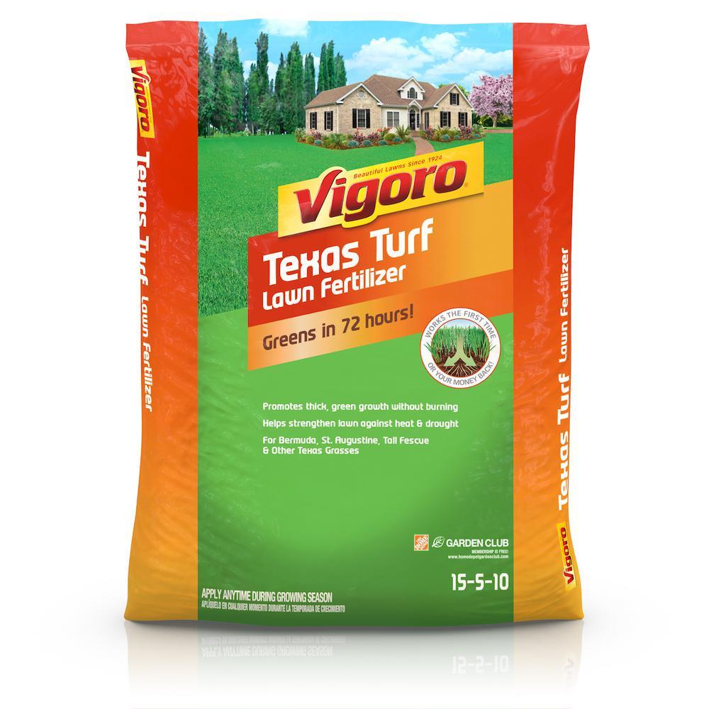 Vigoro Texas Turf 5,000 sq  ft  Lawn Fertilizer