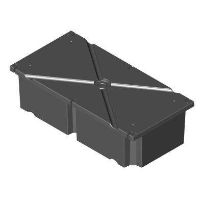 24 in. x 48 in. x 8 in. Dock System Float Drum