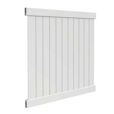 Washington 6 ft. H x 6 ft. W Vinyl Fence Panel Kit (Z)