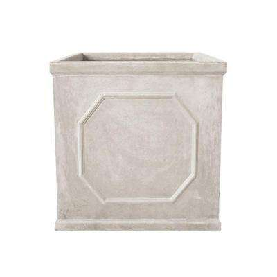 Chelsea 21-1/2 in. Square Sand Fibreclay Planter