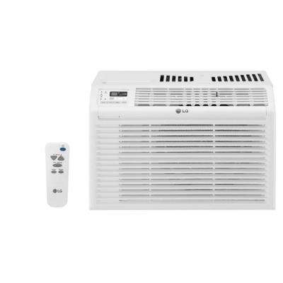6,000 BTU 115-Volt Window Air Conditioner with Remote in White