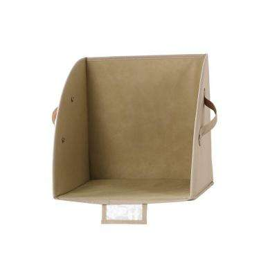 12 in. x 12 in. Shelf Divider in Beige
